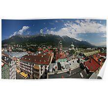 Postcard from Innsbruck Poster