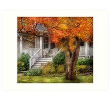 Autumn Exposure Art Print