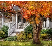 Autumn Exposure Photographic Print