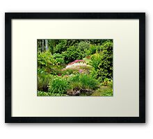 Reawaken Nature's Serum - Maple Glen Gardens - NZ Framed Print