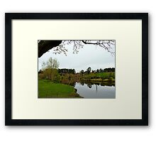 Maple Glen Ponds - Southland - NZ Framed Print