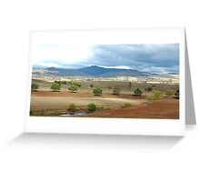 It's A Dry Dry Land - Southern NSW, Australia Greeting Card