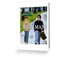 Rain, Man Greeting Card