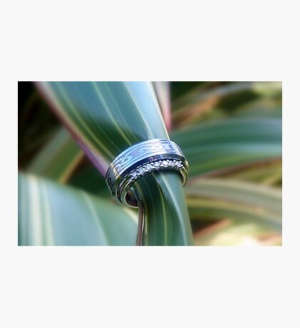 Forever United In Heart & Soul - Wedding Rings - NZ Photographic Print