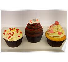 Valentine Cupcakes... - By Haydene - NZ Poster