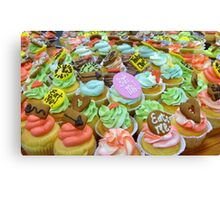 *Alice In Wonderland* - Cupcakes - Christchurch Canvas Print