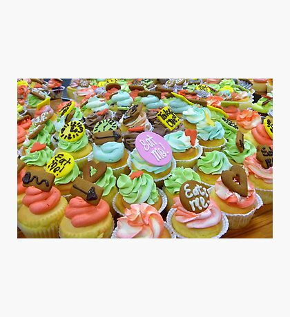 *Alice In Wonderland* - Cupcakes - Christchurch Photographic Print