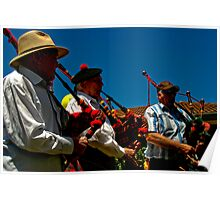 Bag Pipes Poster