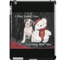 I Hear Santa Claus iPad Case/Skin