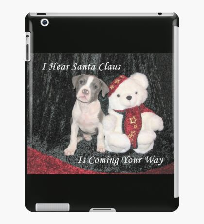 I Hear Santa Claus iPad Case/Skin
