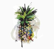 Pineapple Art Kids Clothes