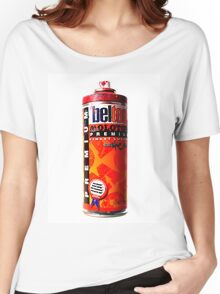 Belton red Women's Relaxed Fit T-Shirt