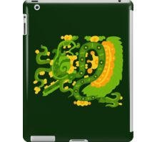 Mayan feathered snake iPad Case/Skin