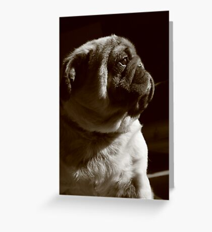 Strong Greeting Card