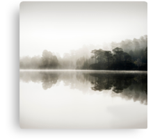 Misty dawn in Glen Affric, Scotland Canvas Print