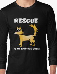 Rescue dog Long Sleeve T-Shirt