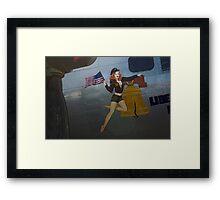 Liberty Belle Hottie  Framed Print