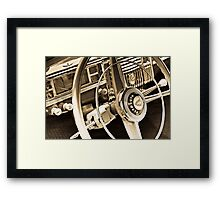 When cars where still cars Framed Print