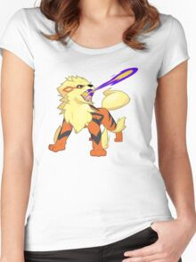 Arcanine Dragon Rage Women's Fitted Scoop T-Shirt