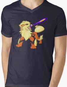 Arcanine Dragon Rage Mens V-Neck T-Shirt