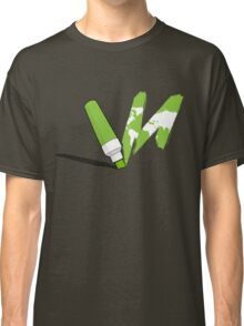 Painted green Classic T-Shirt