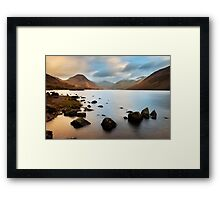 Early morning at Wastwater Framed Print