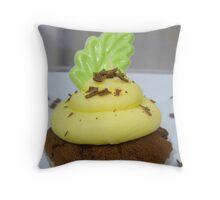 Lemon & Lime - Cupcake - NZ Throw Pillow