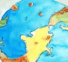 Arcaron planet Sticker