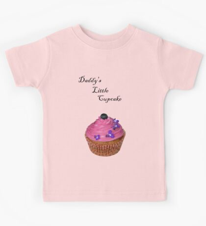 Daddy's Little Cupcake! - Tee - NZ Kids Tee