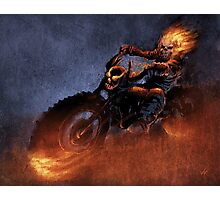 Ghost Rider Photographic Print