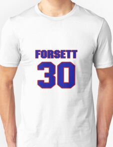 National football player Justin Forsett jersey 30 T-Shirt