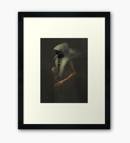 The Weaver Framed Print
