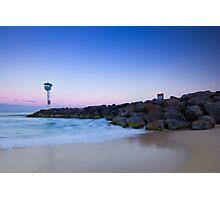 Sunrise at City Beach Photographic Print
