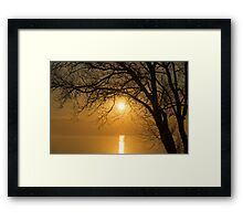 Rise and Shine, it's Going to be a Beautiful Day Framed Print