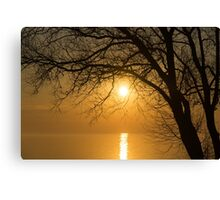 Rise and Shine, it's Going to be a Beautiful Day Canvas Print