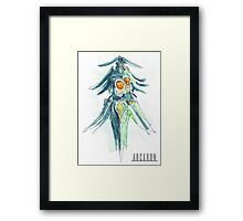 Arcaron: Kluya god of pollos Framed Print