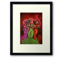COLOR OF A WOMAN Framed Print