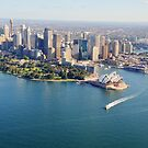 Sydney Opera House from Air by Rod Kashubin