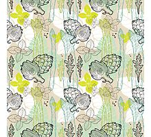 Spring pattern Photographic Print
