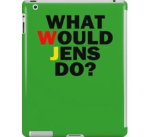 What would Jens do? iPad Case/Skin