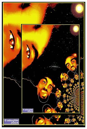 AFROSHEEN TWINS © copyright ssjr 2008. by S DOT SLAUGHTER