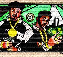 """ERIC B. & RAKIM """"PAID IN FULL"""" COVER 2 by SOL  SKETCHES™"""
