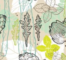 Spring pattern Sticker