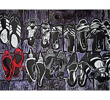 My Red Shoes Photographic Print