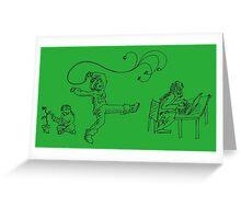 Arcaron master: dia a dia 2 Greeting Card