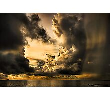 Stormy Dawn Photographic Print