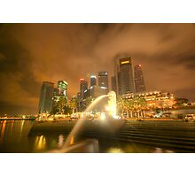 Singapore City Photographic Print