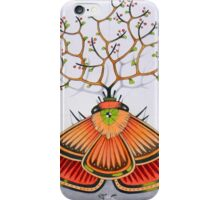 tree - moth iPhone Case/Skin