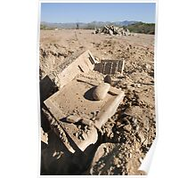 Archaeological dig discovery Poster