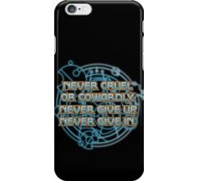 The Doctor's Promise iPhone Case/Skin